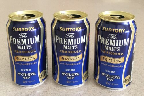 Japanese SUNTORY Blue Label The Premium Malt