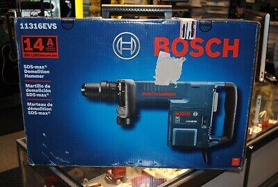 Bosch 14-amp Sds-max 120-volt Demolition Hammer 11316evs New Sealed Box