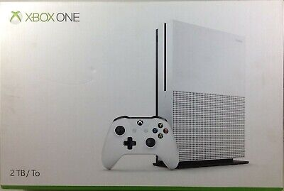 Microsoft Xbox One S 2TB Gaming Console White (Damaged Box) (8167-BR00)