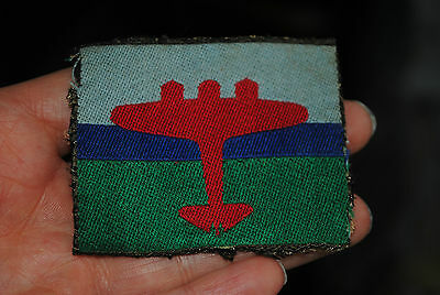 Original woven air formation Royal Signals patch
