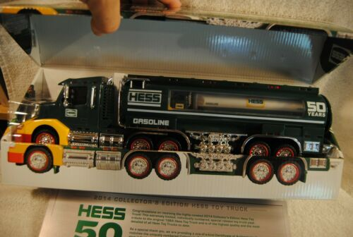 Hess 1964-2014 50th Anniversary Special Edition Gasoline Tanker Truck Brand New
