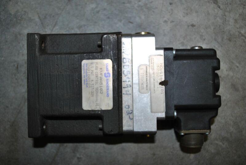 HYDRAULIC SAUER SUNDSTRAND DANFOSS CONTROL SERVO VALVE KVFAA5102 MCV116A3101 NEW