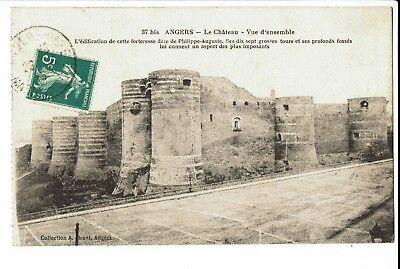 CPA - Carte postale  FRANCE - Angers - Son Château - S371