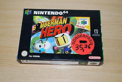 Bomberman Hero Nintendo 64 N64 Spiel NEU Unbenutzt VGA Wata