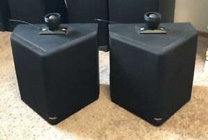 Klipsch Reference IV rear surround speakers (RS42)