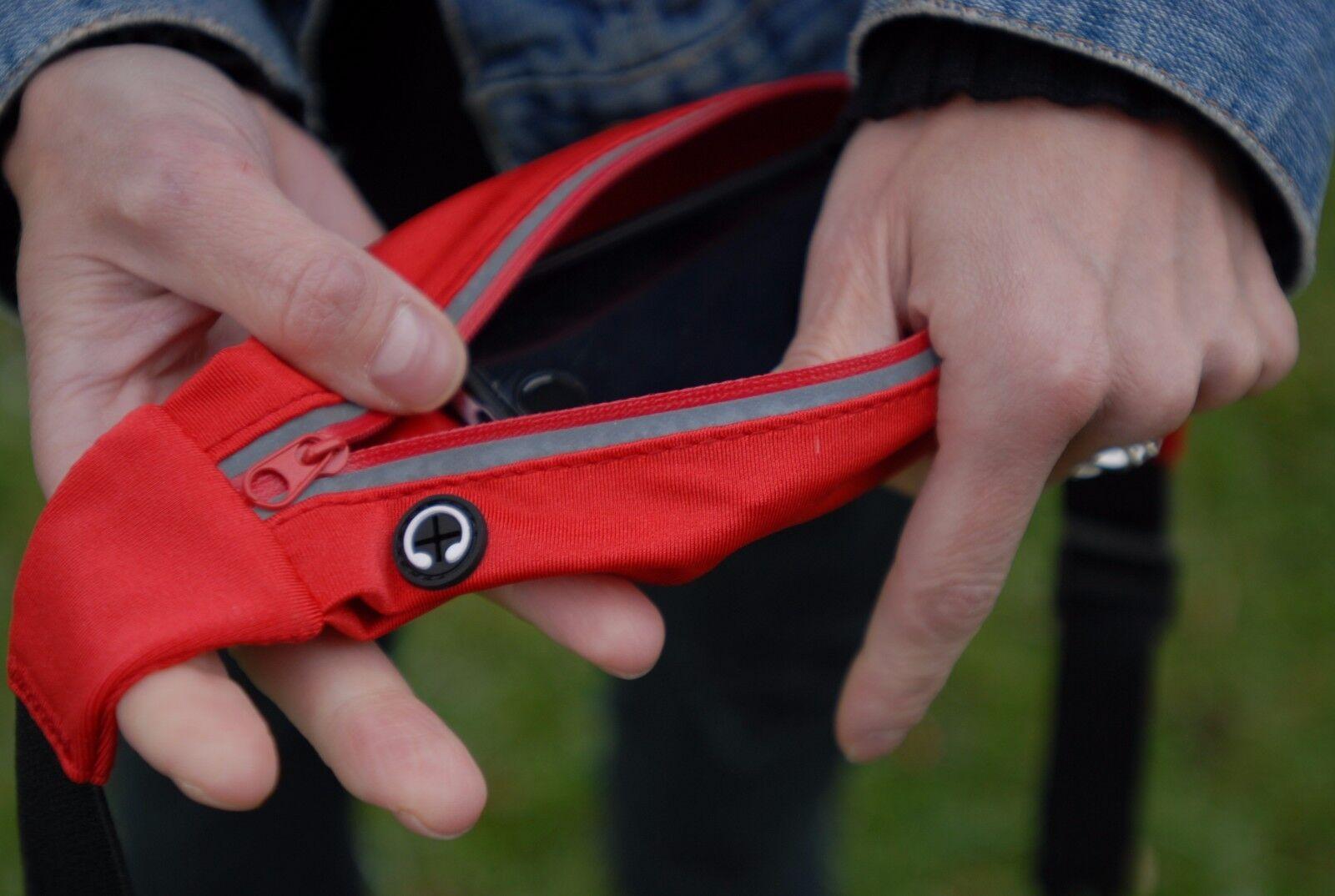 Running Belt Waist Pack Waterproof Unisex Bag Pouch Zip Fann