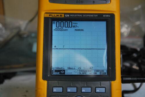 Fluke 124 Industrial Scopemeter 40MHz