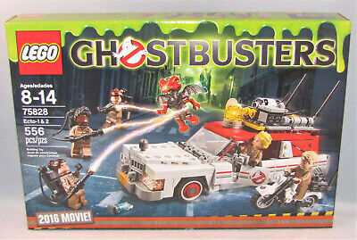 2016 LEGO Ghostbusters Movie 75828 - Ecto 1 & 2  w/ 6 Minifigures - New/Retired