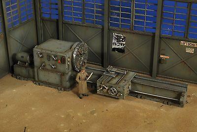 VERLINDEN PRODUCTIONS #2754 Panzerwerk Heavy Factory Lathe w/Figure in 1:35