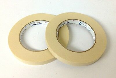20PK IPG PG505 Professional Grade Paper Paint Masking Tape 1/2 in. x 60 -