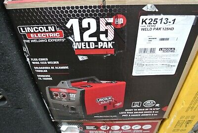 Lincoln Electric K2513-1 Weld Pak 125hd Mig Welder