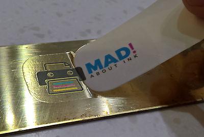 Transparente Calcomanía Papel Transfer para Impresoras Inkjet 1x A4 Hoja