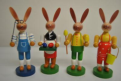 Osterhase aus Holz 11,5 bis 16 cm Ostern Ostereier Dekoration Hase Neu Figuren 1