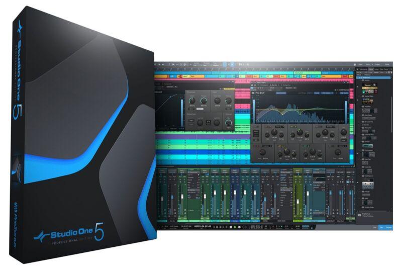 Presonus Studio One 5 Professional (License Transfer)
