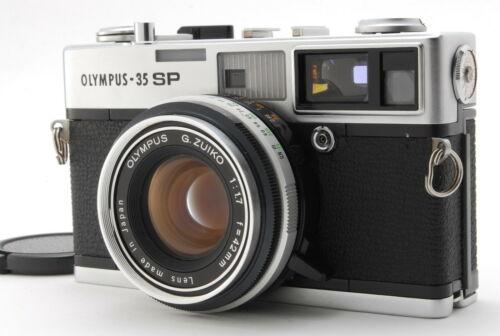 【Excellent】 Olympus 35 SP 35mm Rangefinder Film Camera-#2952