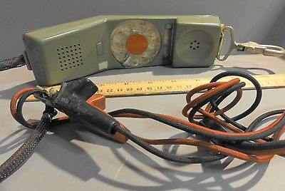 Northern Telecom Rd 1967 Rotary Lineman Telephone Tester Butt Set Phone Vintage