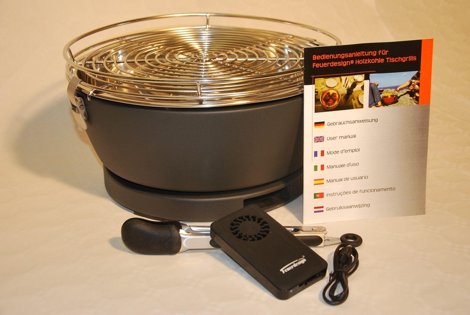 Test Holzkohlegrill Mit Elektrischer Belüftung : Holzkohlegrill mit aktivbelüftung geräte lecker