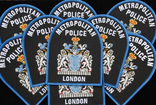 METROPOLITAN POLICE LONDON  ENGLAND.  NEW SCOTLAND YARD. CLOTH PATCH, IRON-ON