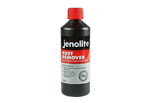 Jenolite Rust Remover Liquid Treatment Rust Destroyer 500g Bottle