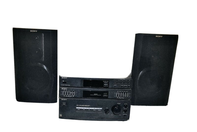 Sony LBT-D159 System with original Speakers fully working