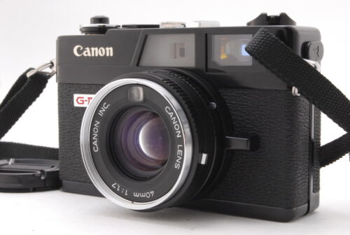 😊 EXC++++ Canon Canonet QL17 G-III G3 Black 35mm Film Rangefinder from Japan