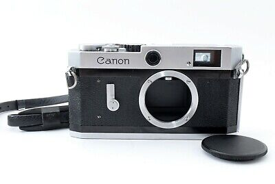 Canon P 35mm Rangefinder Film Camera Body from Japan 613460