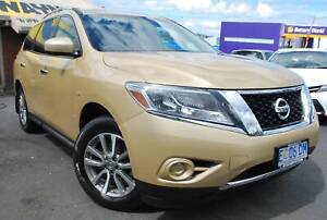 2014 NISSAN PATHFINDER ST AUTO ALL WHEEL DRIVE - 7 SEAT - SUPER North Hobart Hobart City Preview
