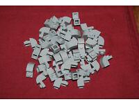 10x LEGO® 2x1x3 Dachsteine 75 neu-dunkelgrau 4460b dark bluish gray slopes