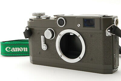 *RARE NEAR MINT Repainted* Canon VL Olive Rangefinder Film Camera Japan 1294