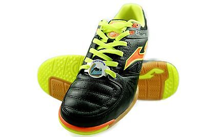 Authentic Joma Indoor Soccer Shoes Dribling 601 Color Black/