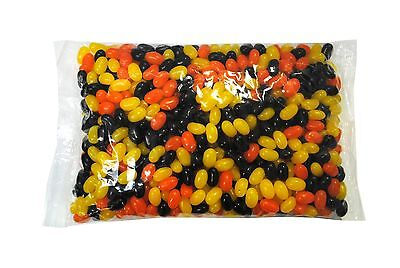 SweetGourmet Fall Jelly Beans Orange/Yellow/Black-5Lb FREE SHIPPING! - Yellow Jelly Beans