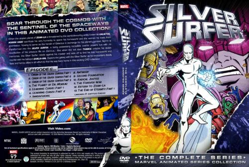 SILVER SURFER TV SERIES COMPLETE SEASON