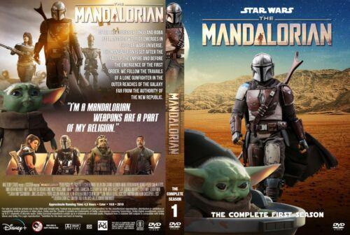 THE MANDALORIAN, SEASON 1, 4DVD, 8 EPISODES(ENGLISH AUDIO AND SUBTITLES)