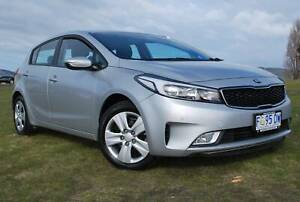 2016 KIA CERATO AUTOMATIC HATCH - ONLY 39,200 KLMS - EXCELLENT COND North Hobart Hobart City Preview