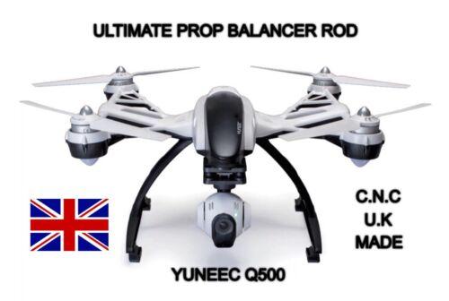 Yuneec Q500 Prop Balancer Rod, Solid Brushed Aluminium.