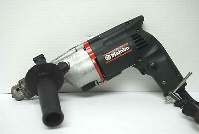 Vintage Metabo 12 Electric Hammer Drill - W. Germany Hd14vsr - Fully Tested
