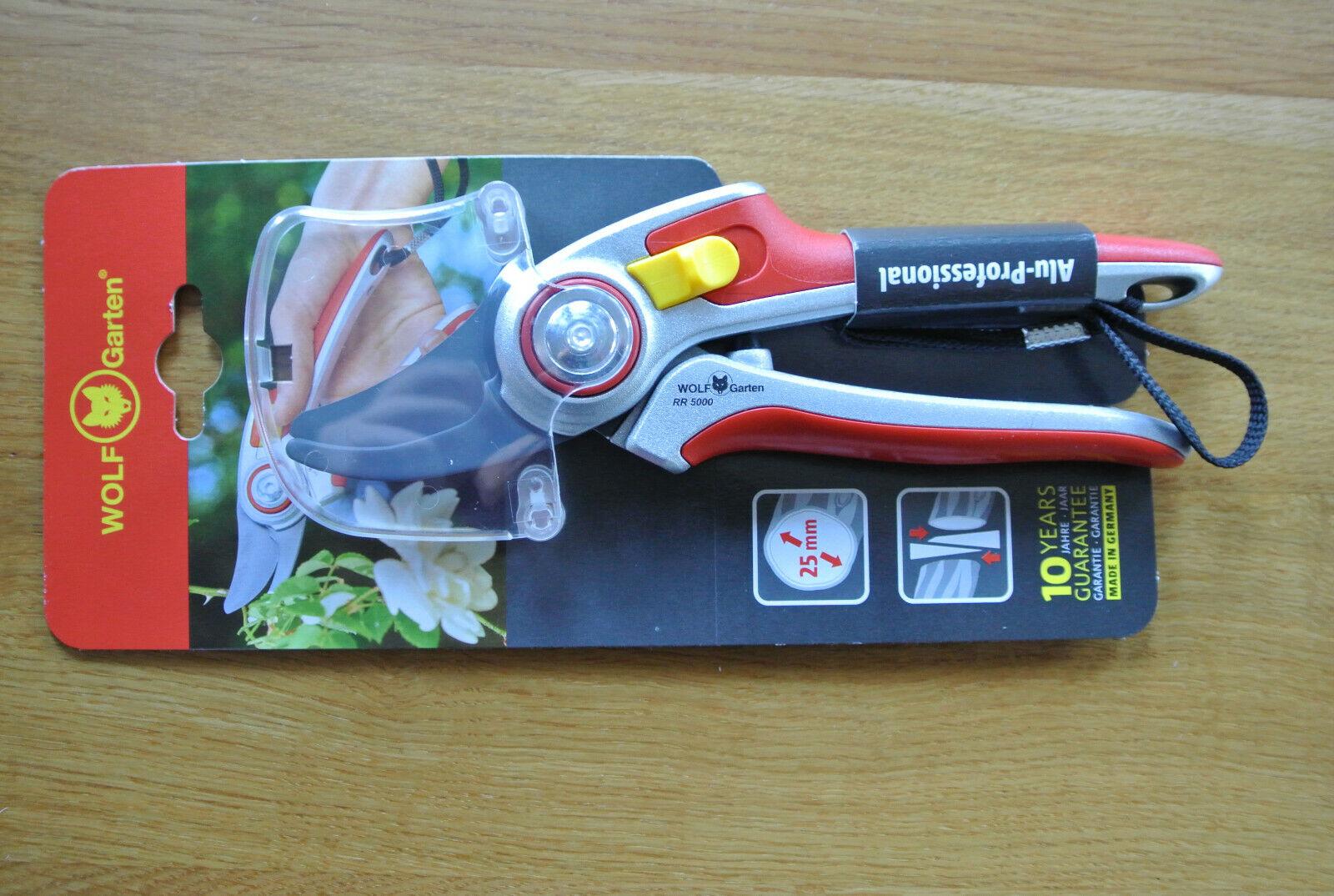 WOLF-Garten Alu-Gartenschere Professional RR 5000