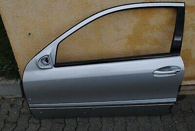 Mercedes Benz W203 Coupe CL Tür Vorne Links Silber // Farbcode 744
