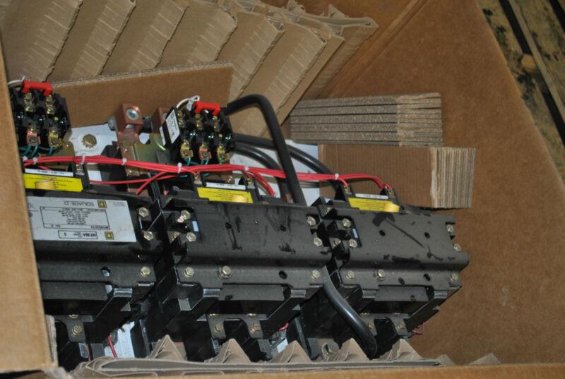 SQUARE D SIZE 5 600 MOTOR STARTER 8810SGO1V02S 8810 8810SGO1S 30072-013-103