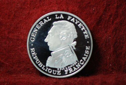 France, 1987 100 Francs, silver, .9162 fine, 0.9000 oz., Piedfort, Proof,  3 -25