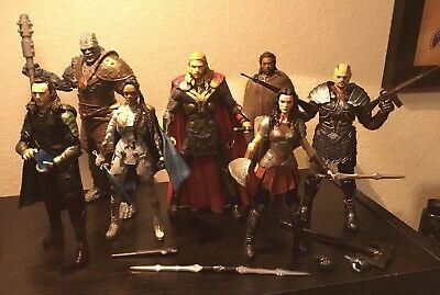 Marvel Legends MCU Thor Lot Loki Sif Valkyrie Korg Heimdall Skurge Figures