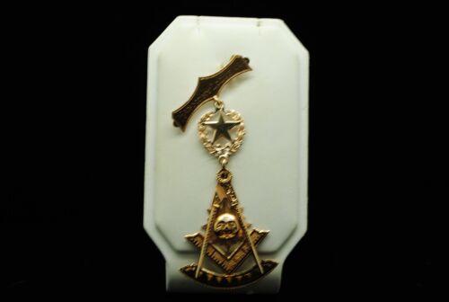 ANTIQUE 14K YELLOW GOLD HARMONY LODGE 1923 MASONIC MEDAL GOLD 598