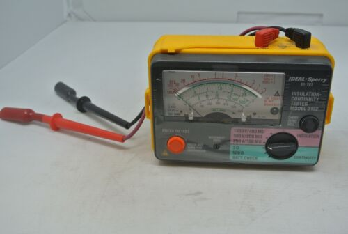 Ideal 61-787 insulation Continuity Tester 3132