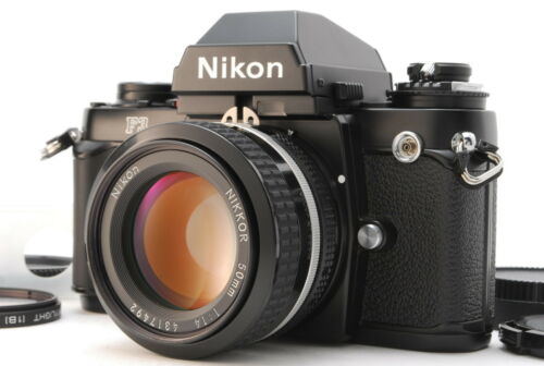 Nikon F3 Eye Level 35mm Film Camera Body + Ai Nikkor 50mm F/1.4 From Japan E550