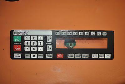 Multifeeder Friction Feeder Mft 350 Display Interface 110405 Used