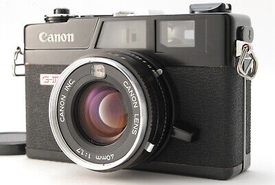 【Excellent++++】 Canon Canonet QL17 GIII Black Rangefinder Film Camera-#1882 for sale  Shipping to Canada