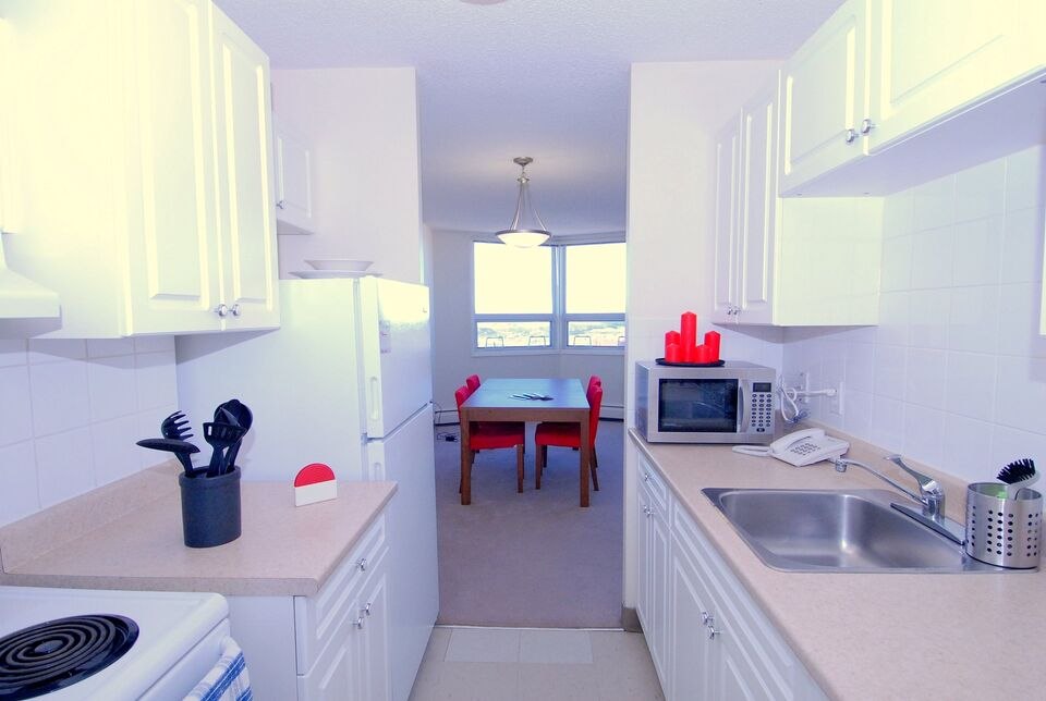 Downtown Calgary one bedroom apt with Park View & No ...