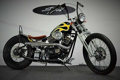 Custom Chopper / bobber, kikker 250cc V twin,Custom paint WOW £3490