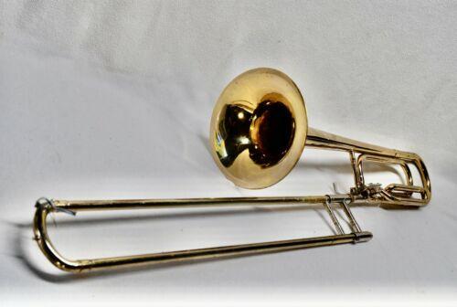 50H GI570093 Conn Tenor Trombone F Trigger Bach  Mouth Piece & Case USA  60