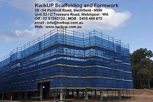 Kwikstage Scaffolding and Formwork Props in Melbourne Canberra Region Preview